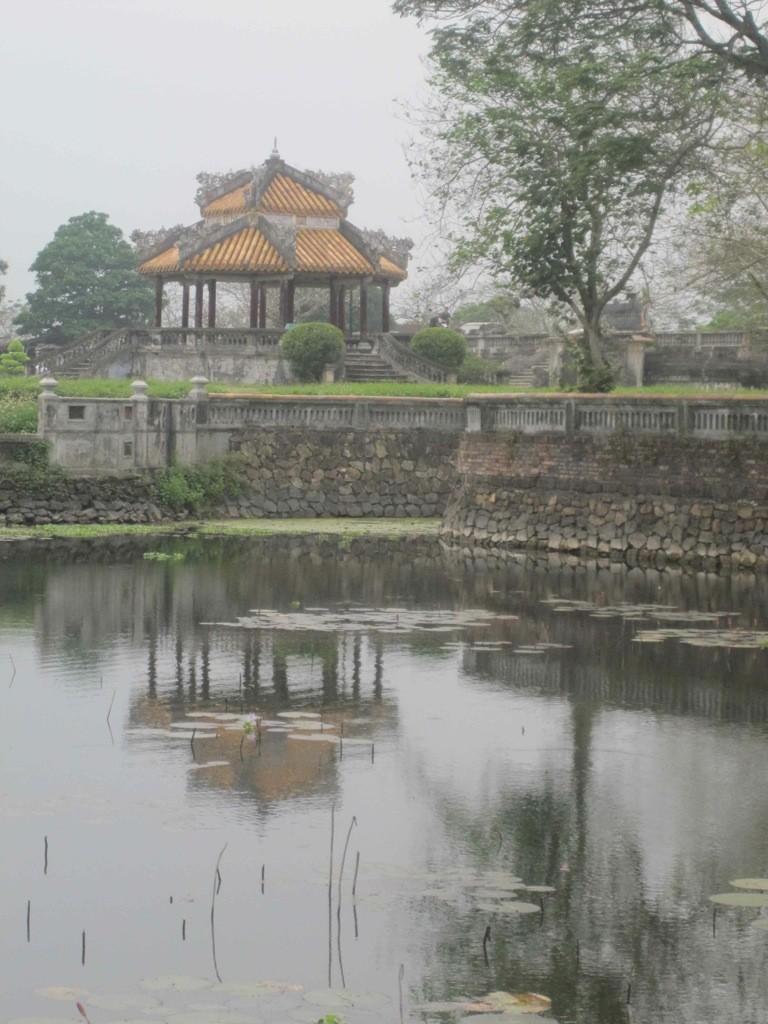 Lakeside pavilion, Forbidden Purple City, Hue, Vietnam