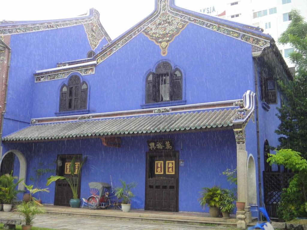 Cheong Fatt Tze blue mansion, Georgetown, Penang
