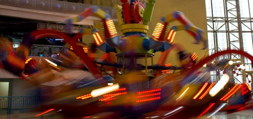 Ride at Berjaya Times Square Theme Park