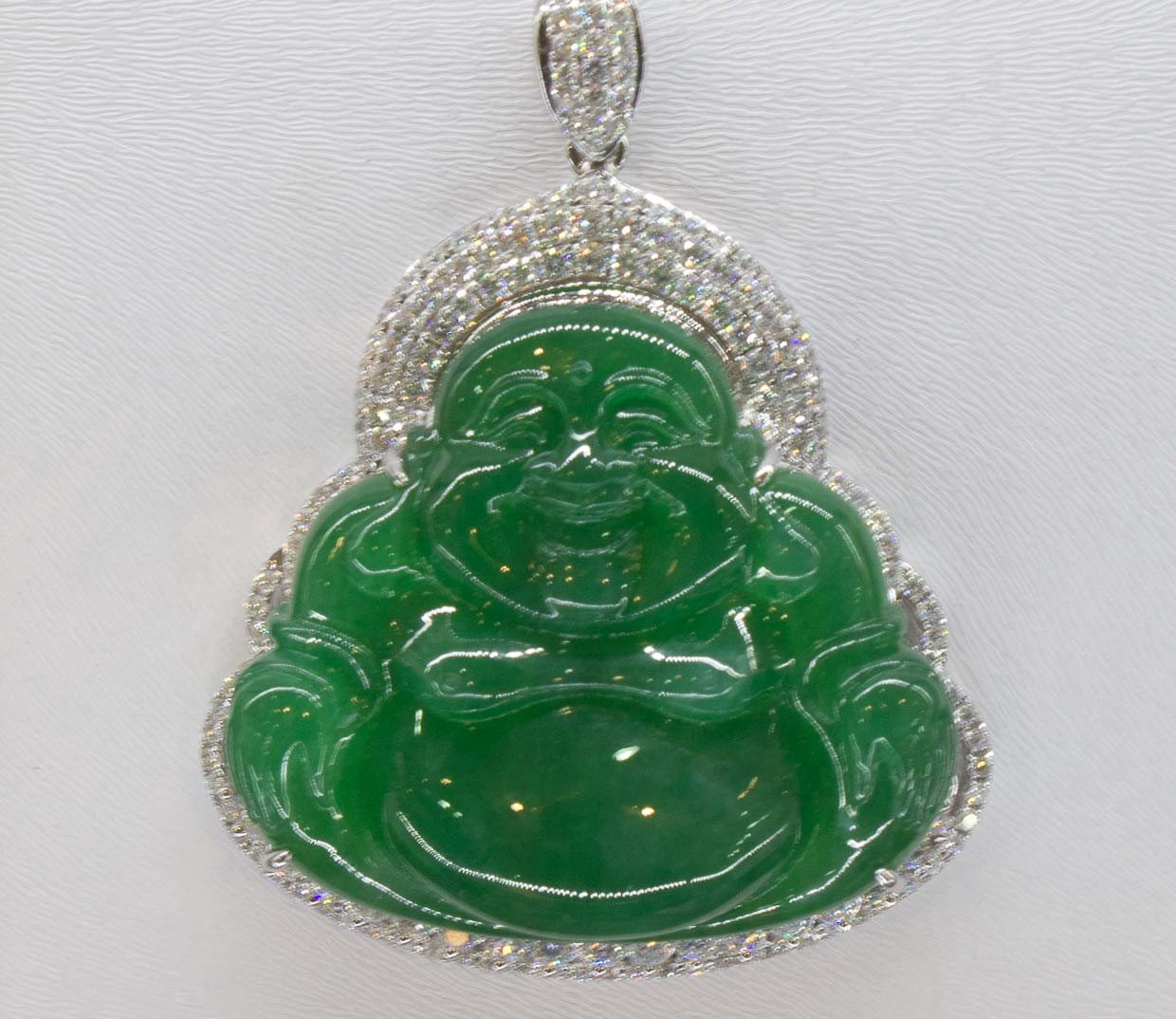 Oh james im sorry about the jade escapeartistes jade laughing buddha pendant in lijiang old town yunnan china aloadofball Choice Image