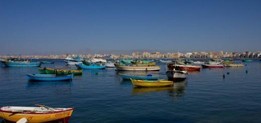 Alexandria- Harbour