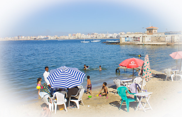 Seaside pic on an inner-city Alexandria beach.