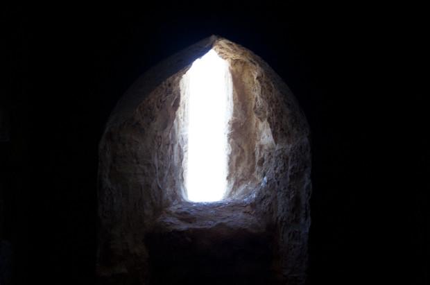 Window at Qaitbey fort, Alexandria.