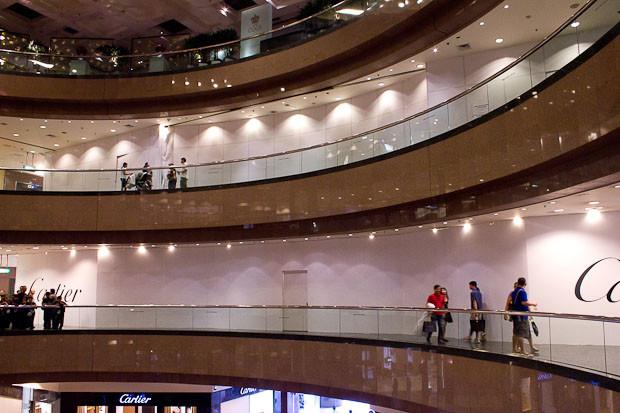 Takashimaya Mall, Singapore.