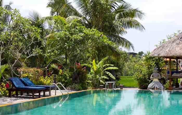 Pool at Gayatri 2, Ubud, Bali.