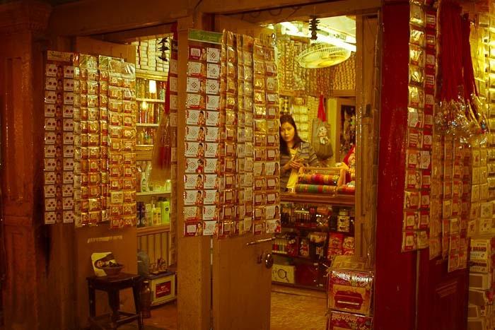 Bead store, Kathmandu, Nepal.