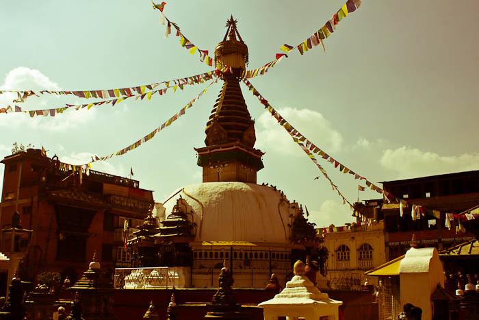 Kathesimbhu stoupa, Kathmandu, Nepal.