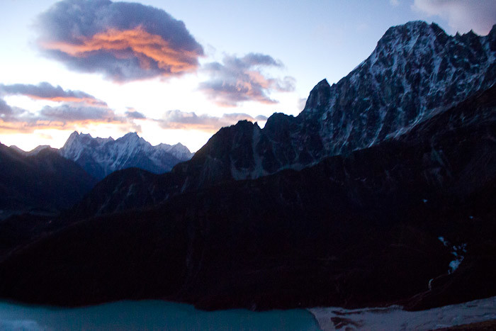 Sunrise from Gokyo Ri