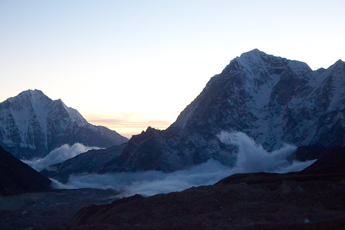 Everest Base Camp trek: view from Kala Patthar.