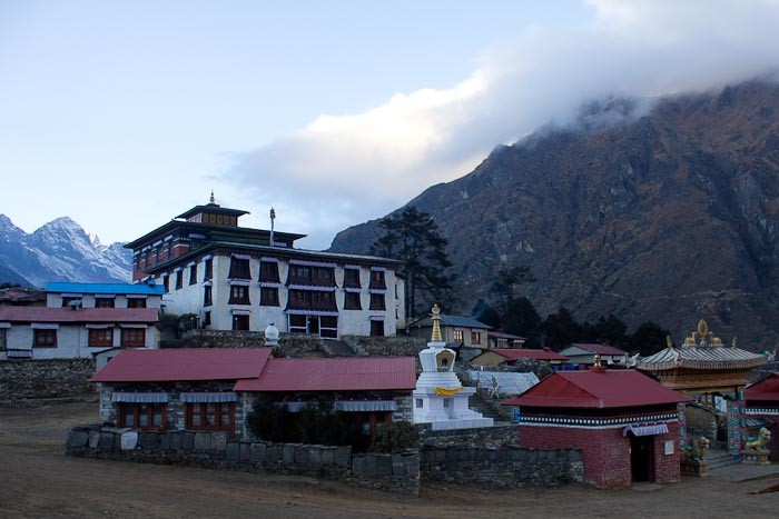 Everest Base Camp: Tengboche monastery.