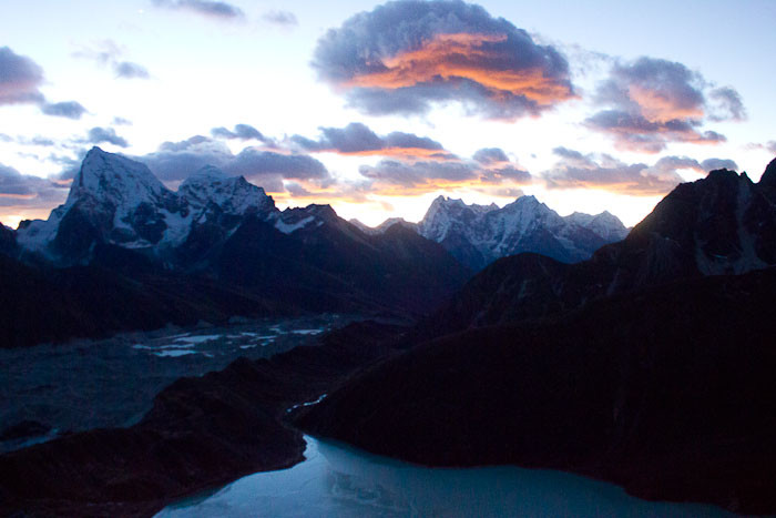 How do I earn enough to travel? Gokyo Ri sunset.