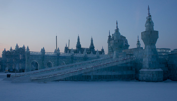 Ice Palace at the Harbin Ice & Snow Festival.