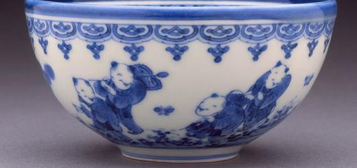 Tea bowl held at Los Angeles Museum of Art, from which the image comes.
