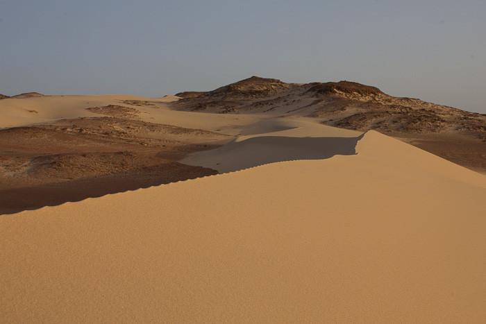 Sand Dunes in Sinai