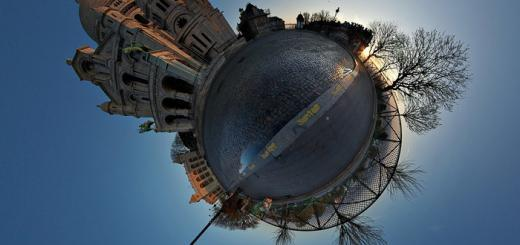 Gorgeous Montmartre panorama thingy by Alexandre Duret-Lutz.