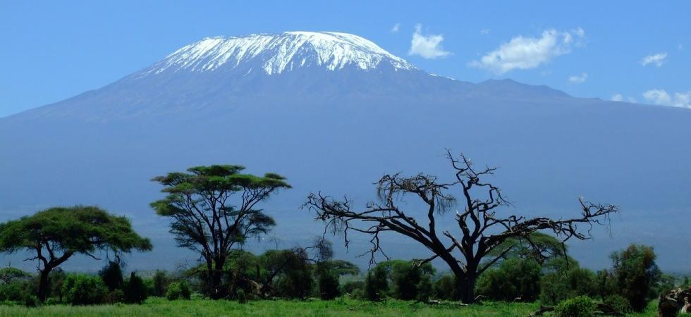 Kilimanjaro from a distance.