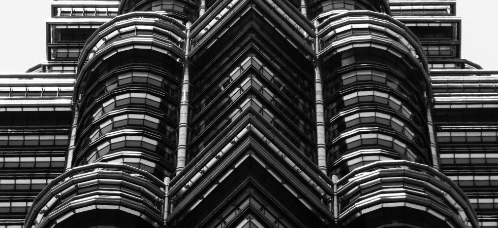 Detail of the Petronas Twin Towers, Kuala Lumpur